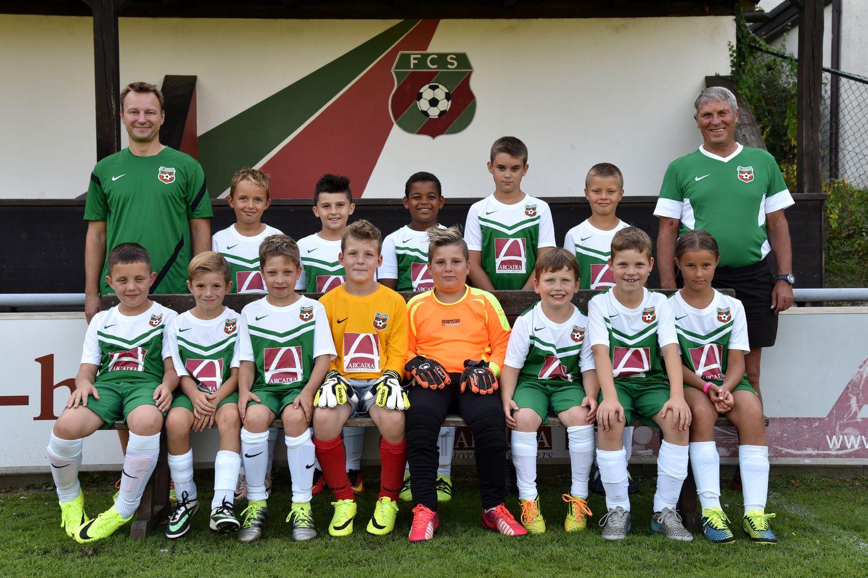 Mannschaftsbild E-Jugend September 2016 klein